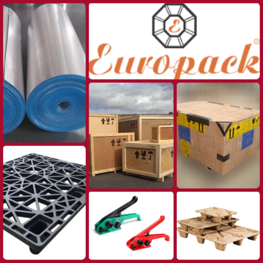 Recyclable & Reusable Plywood Boxes