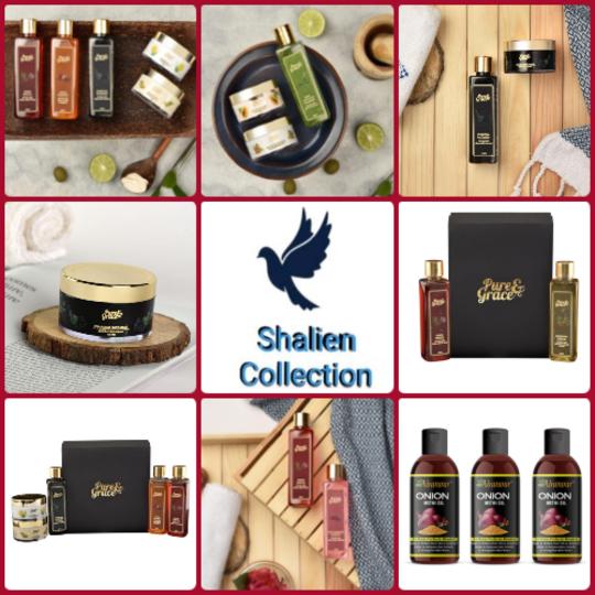 Pure & Grace Rejuvenating Hair Kit (Onion Oil And Onion Shampoo) (Code: C1417365)
